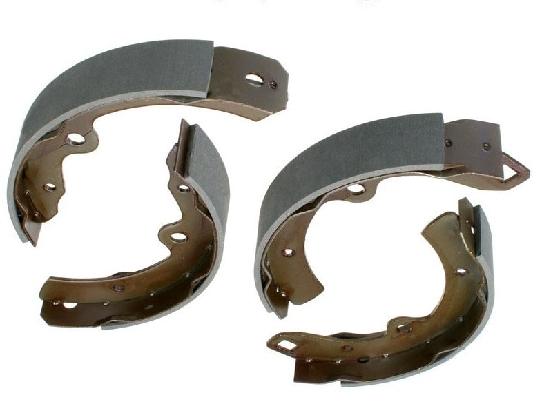 Asimco Brake Shoe - Toyota Land Cruiser HZJ79