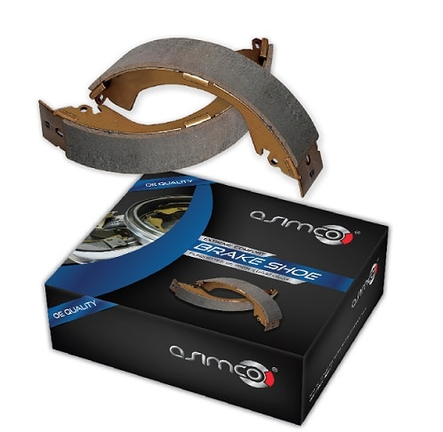 Asimco Brake Shoe - Toyota Vitz New Model