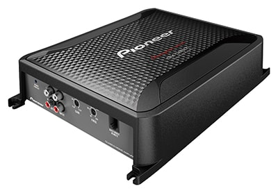 Class D Mono Amplifier with Bass boost remote. D8601