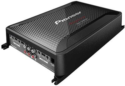 Class FD 4 ch Bridgeable Amplifier with Bass boost remote. D9604