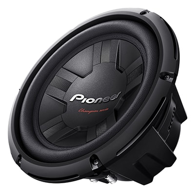 25 cm(10Inch) Champion Series Subwoofer (4Ohm Dual Voice Coil Type)