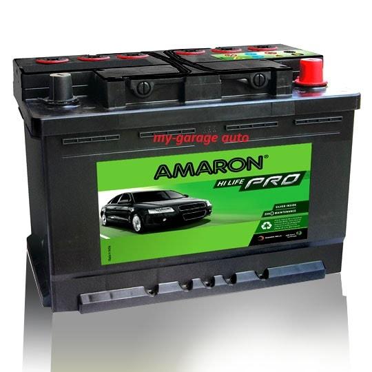 Amaron Pro DIN74 Battery