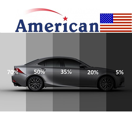LLumar American Windows Film Titanium (Tint) 1800CC and Below