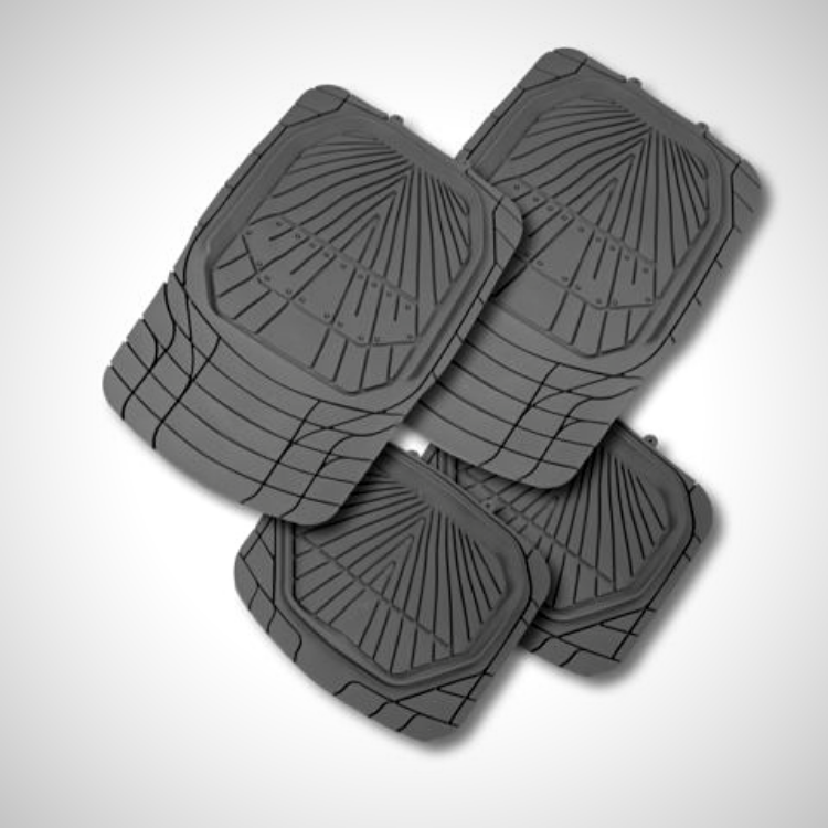 Tread Car Mats HD Black