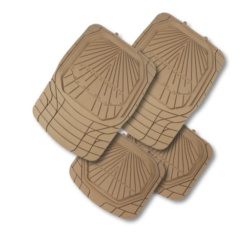 Tread Car Mats HD Beige