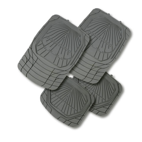 Tread Car Mats HD Grey