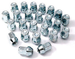 Chrome Wheel Nuts HONDA