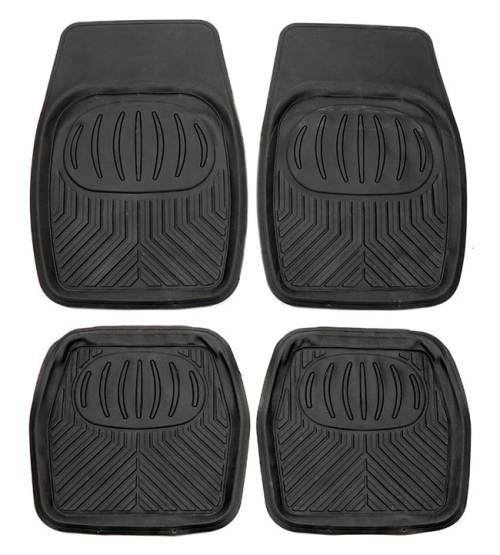 Standard Car Mat - Grey 4PCS