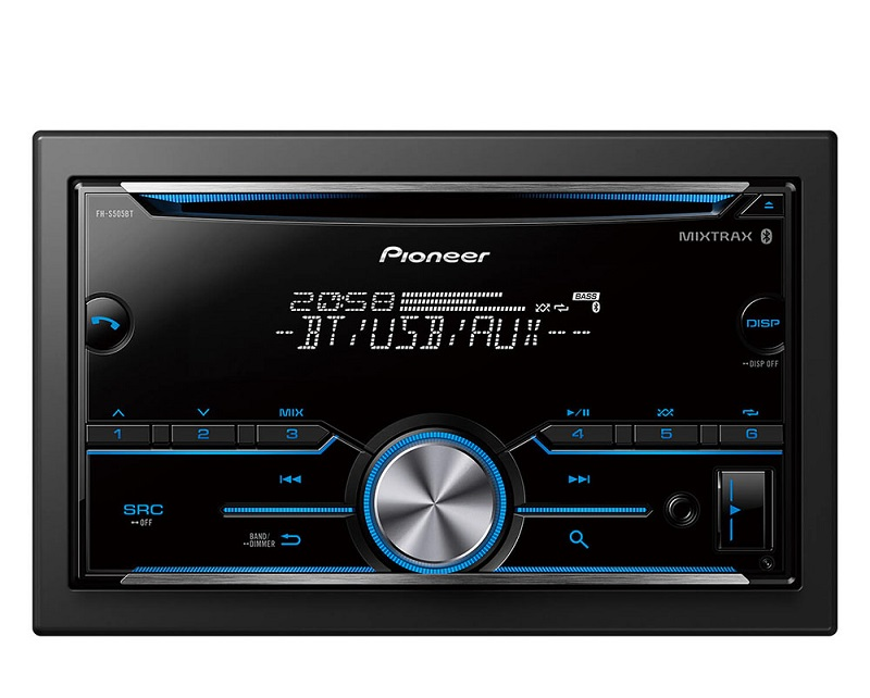 PIONEER Double-Din Audio Receiver S505BT