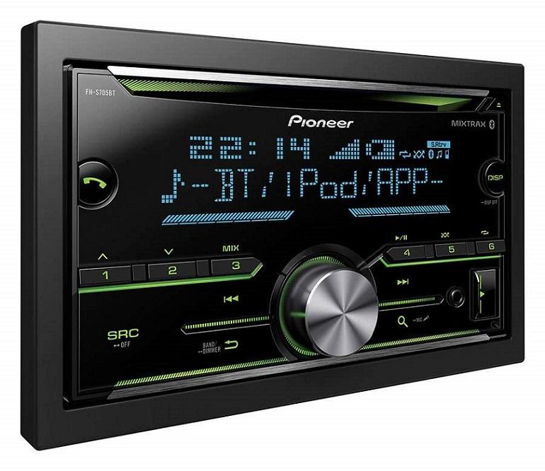 PIONEER Double-Din Audio Receiver  S705BT