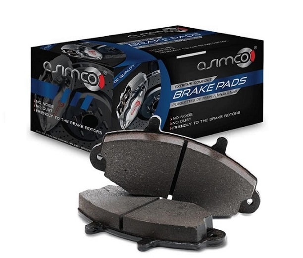 Asimco Brake Pads Front - SUBARU LEGACY 1.6/1.8