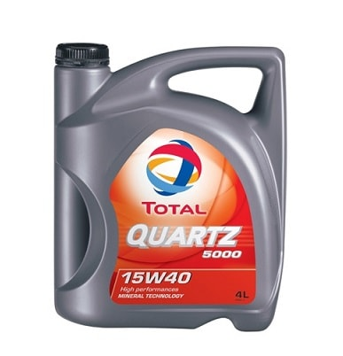 Total Quartz 5000 15W-40 4Ltr
